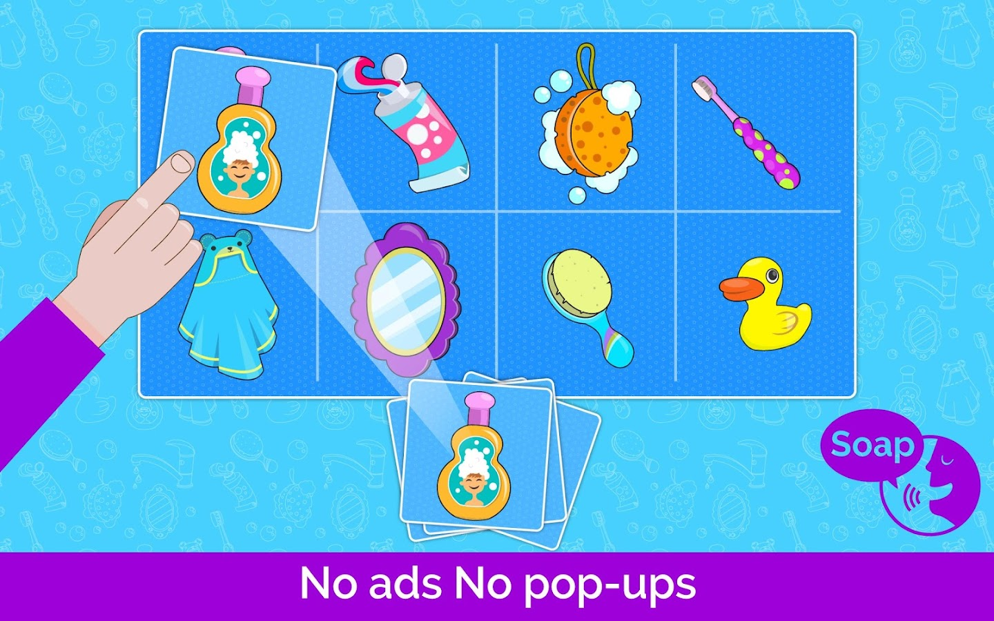 First words games for kids- screenshot