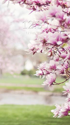 Magnolia Blossom Wall Lock