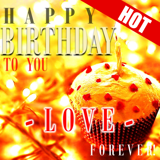 Happy Birthday Cards Cake Love Message Quotes V7560