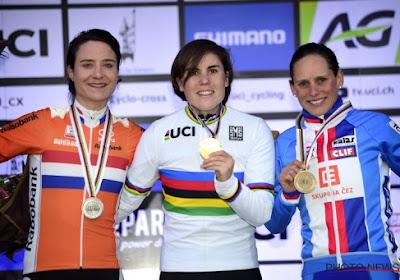 Sanne Cant championne du monde de cyclocross