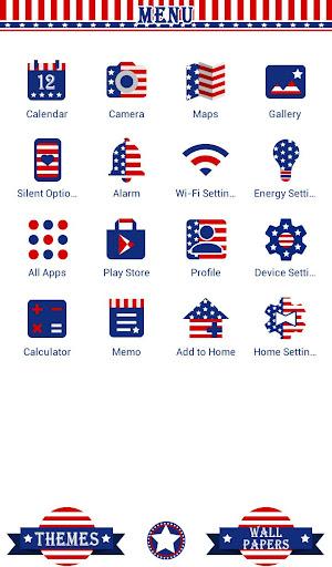 USA Flag Heart Wallpaper 1.0.0 Windows u7528 2