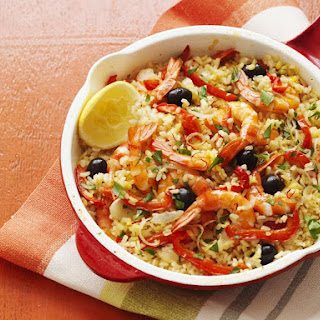 Shrimp Vegetable Paella Recipes