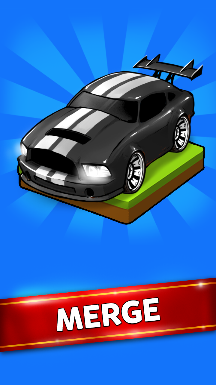 Merge Battle Car Tycoon Screenshot 0