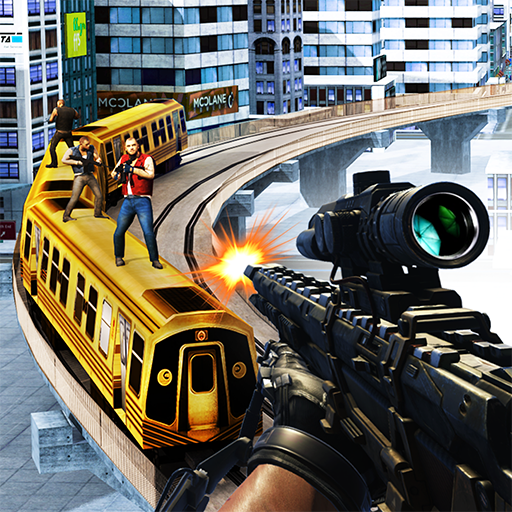 Sin City Train Sniper 3D game (apk) free download for