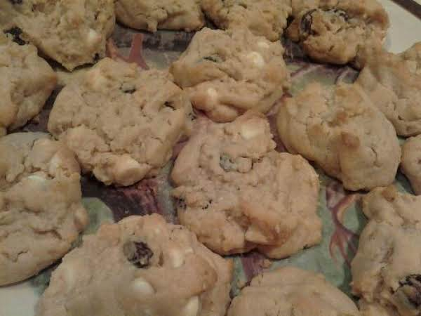Sesame Peanut Butter White Chocolate Cookies Recipe