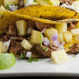 Pineapple Pork Tacos.
