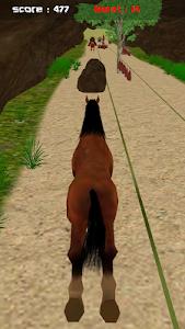 Jungle Horse Run 3D screenshot 3