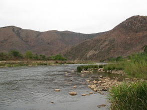 Photo: Ithala Game Reserve. Pongola River