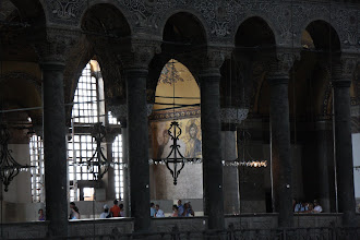 Photo: Day 114 - The Hagia Sophia, Looking Across the Gallery