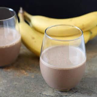 Chocolate Espresso Banana Smoothie.