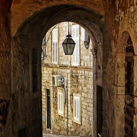 Dubrovnik by Dunja Kolar - City,  Street & Park  Vistas ( croatia, dubrovnik )