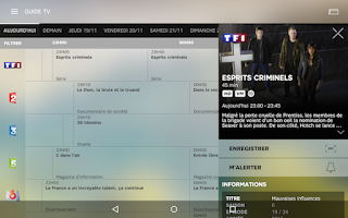 Screenshot of SFR TV