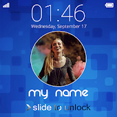 My Name LockScreen