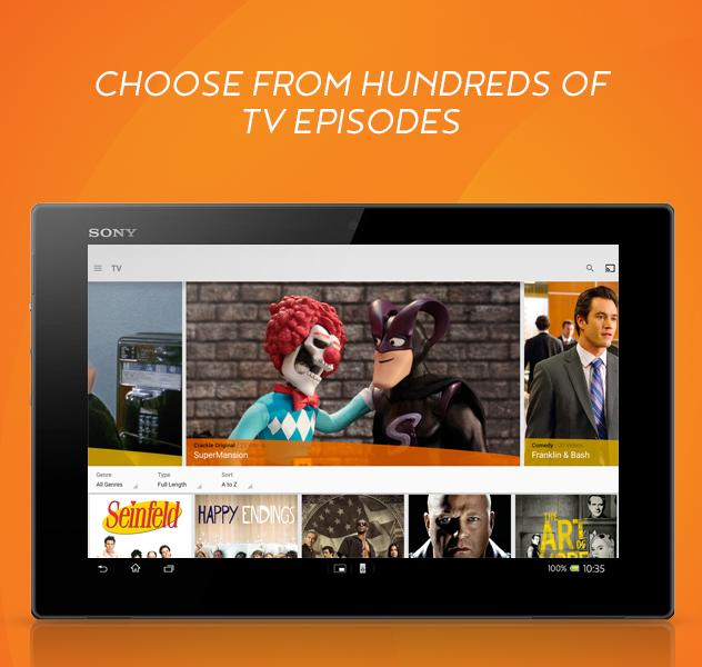 Crackle - Free TV & Movies- screenshot