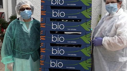 Bio Campojoyma dona hortalizas ecológicas a la CasaNazaret