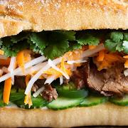 Beef Banh Mi Sandwich