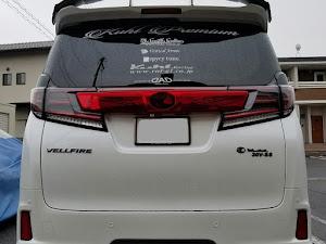 ヴェルファイア AGH30W ZGエディションのライトのカスタム事例画像 ガルナナさんの2019年01月18日12:38の投稿