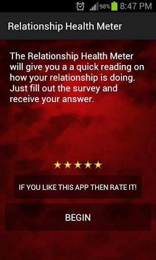 Best Relationship Health Meter