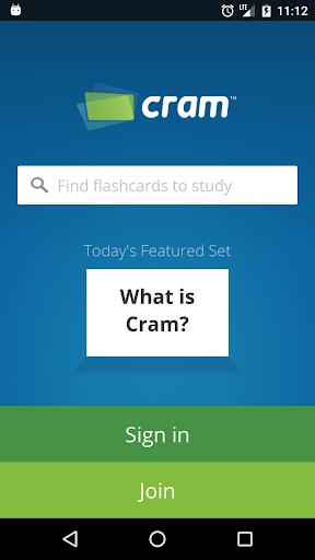 Cram.com Flashcards Screenshot