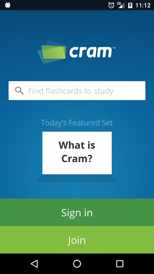 Cram.com Flashcards- screenshot
