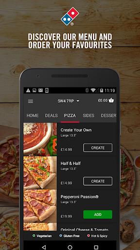 Domino's Pizza screenshot 2