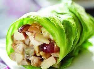 Chicken Apple Wraps Recipe