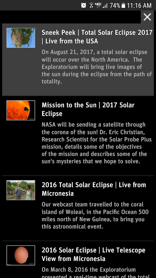 Total Solar Eclipse- screenshot