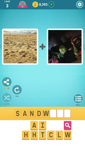 Pictoword: Fun Word Games, Offline Word Brain Game 1.10.6 screenshots 1