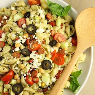 Garden Greek Pesto Salad