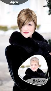 Women Hairstyle Photo Editor - náhled