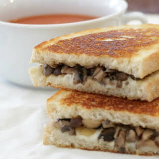 Mushroom Grilled Cheese.