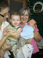 Photo: No primeiro encontro (depois de nascido!) com o primo Luiz Eduardo!