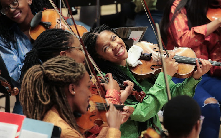The Miagi Youth Orchestra and the German embassy is hosting a gala concert in Pretoria this week. Picture: AXEL NICKOLAUS
