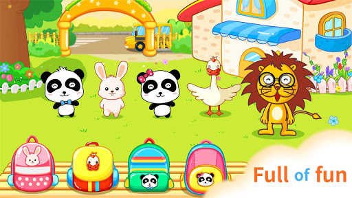 Baby Panda Kindergarten - screenshot