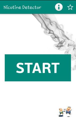 Nicotine Detection App Prank