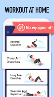 screenshot of Abs Workout - Burn Belly Fat with No Equipment