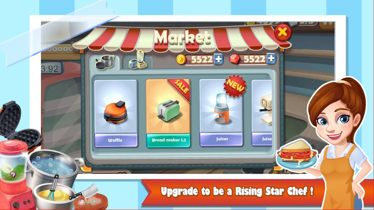 Rising Super Chef:Cooking Game - Google Play Store revenue ...