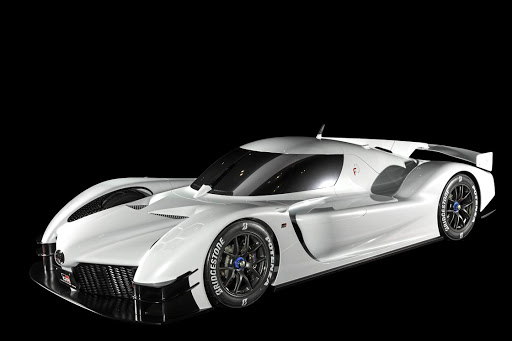 Toyota is in the mood for supercars with this new concept from its Gazoo Racing division. Picture: TOYOTA