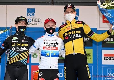 """Van der Haar reed makkelijker naar podium dan gedacht: """"Indrukwekkend van Wout, had hem niet op podium verwacht"""""""