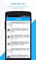 Screenshot of Zalo Page