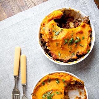 Moroccan Shepherd's Pie With Sweet Potato.