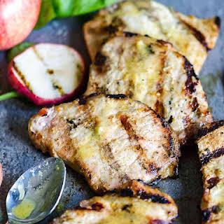 Apple Cider Pork Chops.