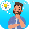 Brain Puzzles : Brain Test Trivia Game icon