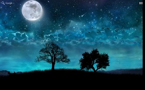 Dream Night Free Live Wallpaper