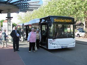 Photo: Sonderbus zur Jubiläumsfeier