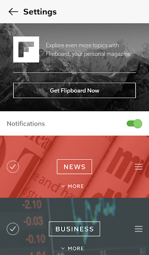 Flipboard Briefing for PC