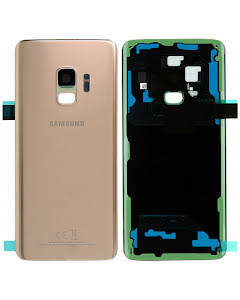 Galaxy S9 Back Cover Pink Gold