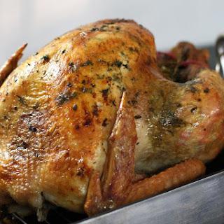 Herb Roasted Turkey.
