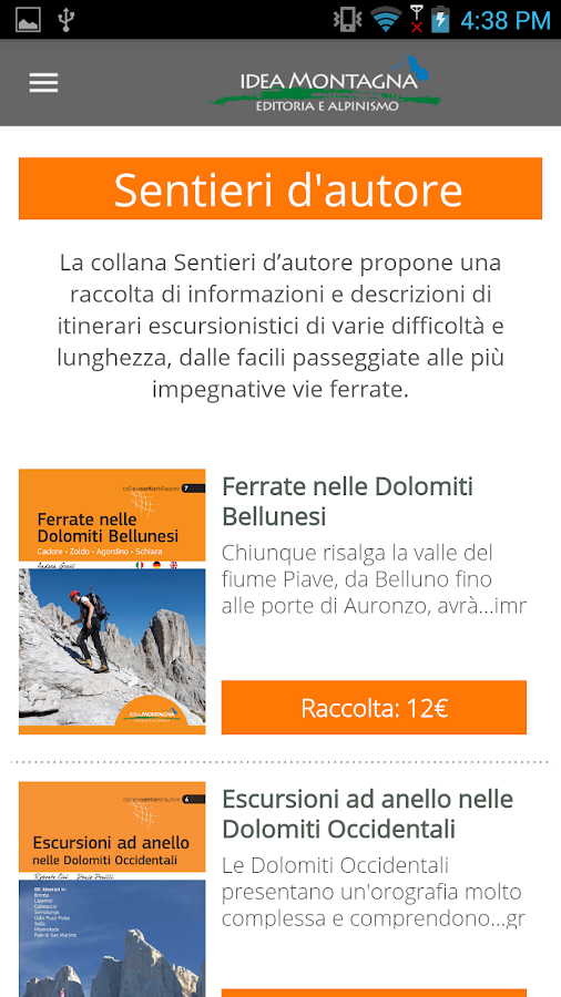 Idea Montagna- screenshot