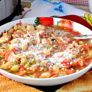 Instant Pot Slow Cooker Italian Pepperoni Soup Recipe
